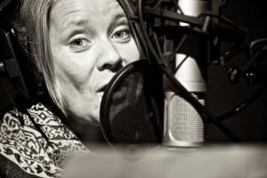 """Sibeth Hoff, her fra innspilling av """"Skipper Skuteløs"""" i 2010"""